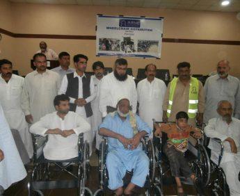 Wheelchair-Distribution